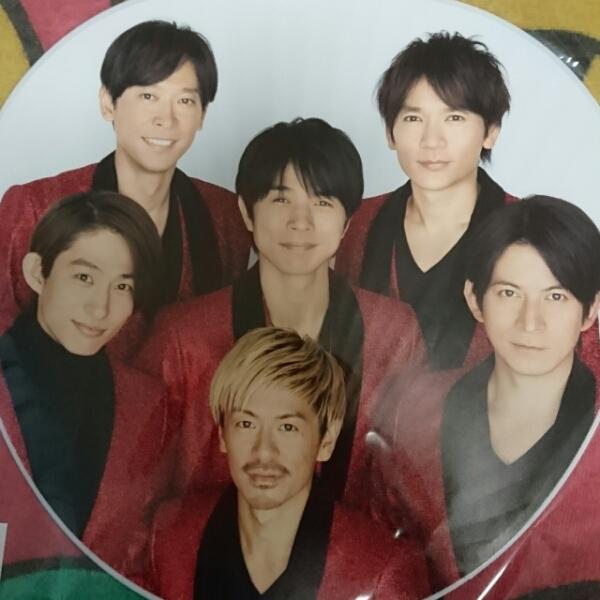 【新品未開封】V6うちわ★カウントダウン2016-2017 コンサートグッズの画像