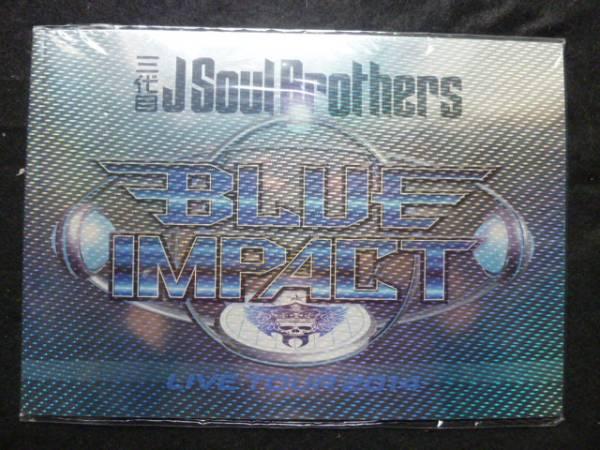 パンフレット 三代目J Soul Brothers LIVE 2014 BLUE IMPACT