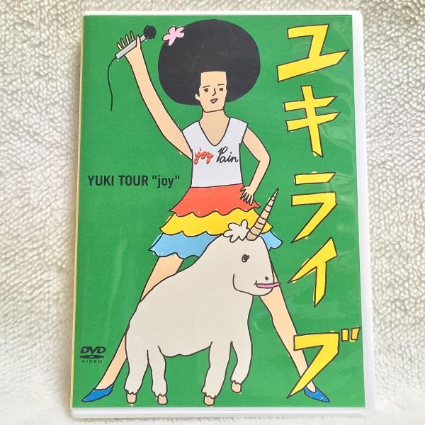 ◇美品◇YUKI『ユキライブ』★YUKI TOUR joy 日本武道館 ライブグッズの画像