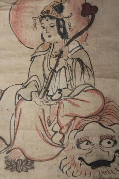 K-120古い仏画_画像1