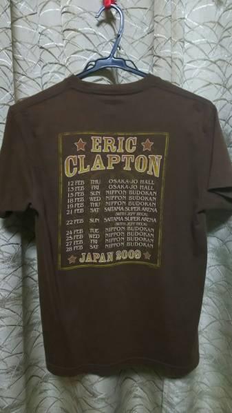 即決 希少 エリック クラプトン 2009 ジャパンツアー Tシャツ 送料210円~_画像2