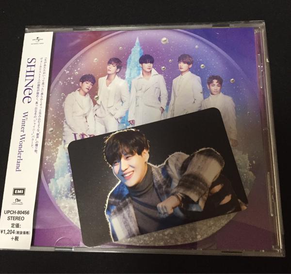 即日発送 SHINee テミン 封入トレカ 通常盤CD Winter Wonderland