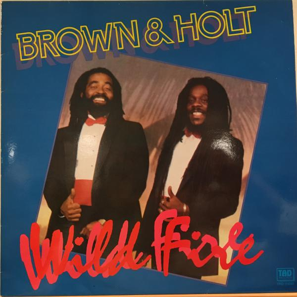 ■Brown & Holt/Wild Fire■LPのみLOVERS名曲!_画像1