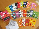 マリメッコ メッセージカード20枚セット*封筒付き すべてウニッコ柄 箱付 フィンランド