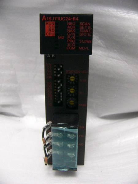 ★動作保証★ MITSUBISHI PLC RS232C通信装置 A1SJ71UC24-R4 複数有_画像1
