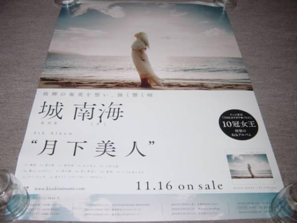 ★送料、筒代込【城南海 月下美人】告知ポスター