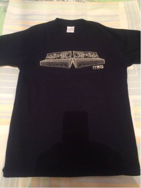【未使用】Moog シンセサイザー Tシャツ 80年代物