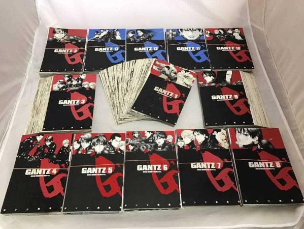 【送料無料】GANTZ ガンツ コミック 全37巻 完結セット※裁断済 グッズの画像