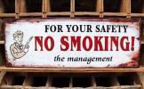 ガソリンスタンド:禁煙:プレート:看板:アメリカンガレージ:ガスポンプ:アメリカン雑貨:アメリカ雑貨:アメリカンレトロインテリア:飾りです