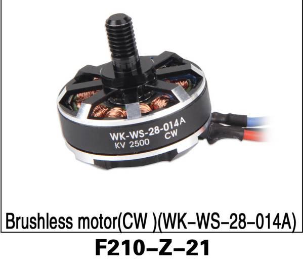 WALKERA ワルケラ F210 ブラシレスモーターCW F210-Z-21