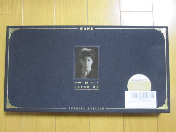 即決! TVXQ東方神起 CATCH ME CD+DVD 韓国版