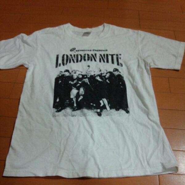 ロンドンナイト Tシャツ BOUNTYHUNTER Hi-STANDARD TWIM