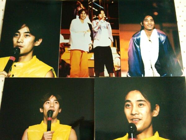 SMAP 中居正広 公式生写真 5枚セット⑦ コンサート