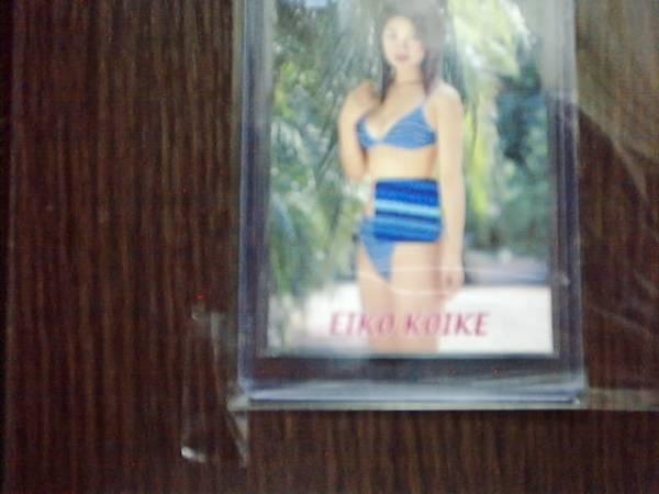 小池栄子 Summer Angel2000 ビキニカード 水着の生地パーツ グッズの画像