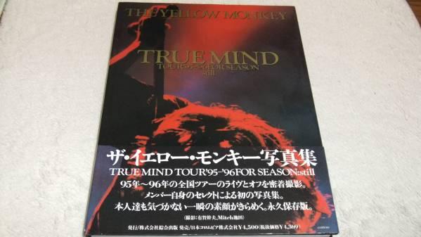 ◆イエローモンキー写真集【TRUE MIND】吉井和哉◆帯付即決