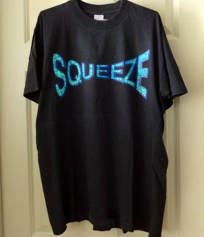 Squeeze スクイーズ 90s ビンテージ ツアーTシャツ C