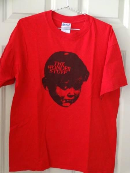 the wonder stuff ワンダースタッフ Tシャツ