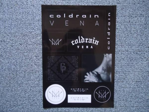 coldrain VENA ステッカー