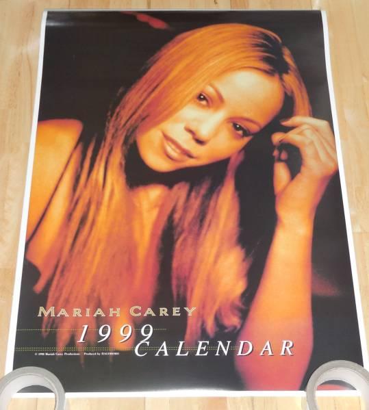 B362/MARIAH CAREY マライヤキャリー カレンダー1999年/B2サイズ