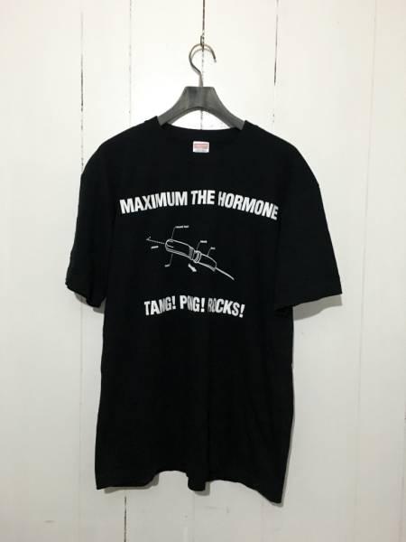 美品☆マキシマムザホルモン XL 半袖Tシャツ TANG PONG ROCKS