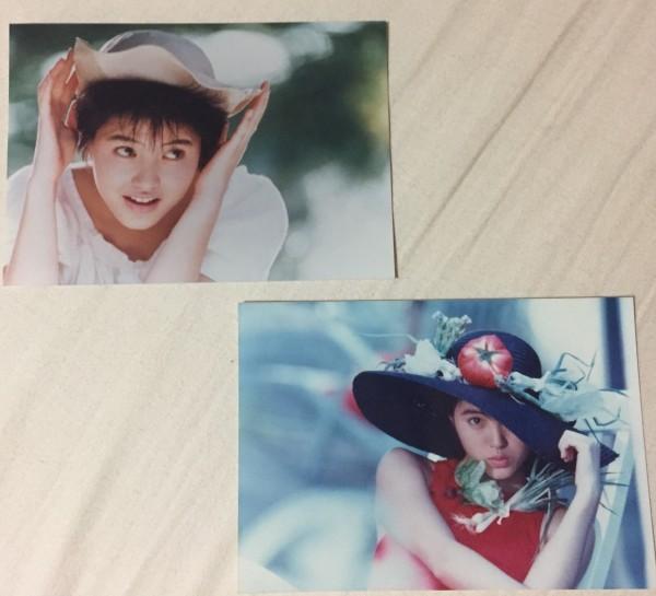 荻野目洋子 販促写真2枚 OG1010