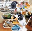 監視カメラ ワイヤレス防犯カメラ IP66防水 1080P スマホと簡単連動 暗視機能搭載 動体検知などGW-754GA