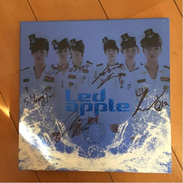 k-pop ledapple レッドアップル 直筆サイン入りCD