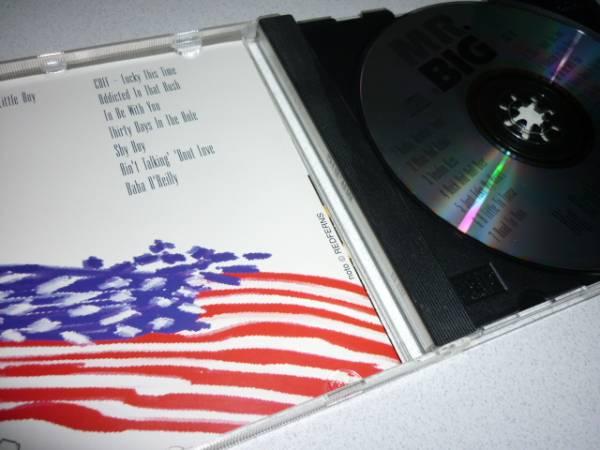 【プレス盤】MR.BIGミスタービッグ/BigBrotherHitsAmerica(92年)_画像3