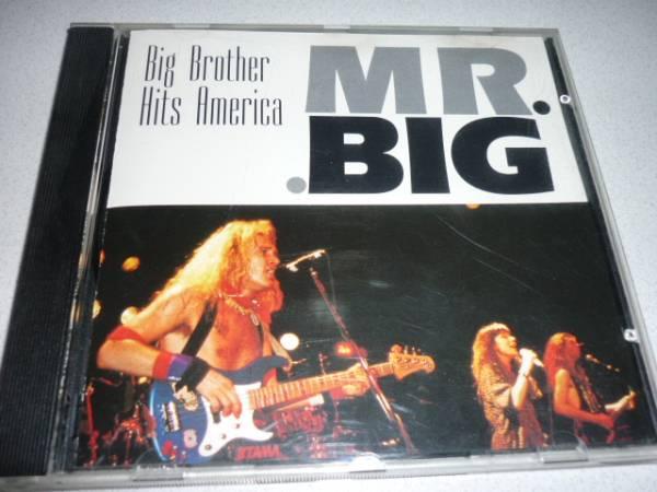 【プレス盤】MR.BIGミスタービッグ/BigBrotherHitsAmerica(92年)_画像1