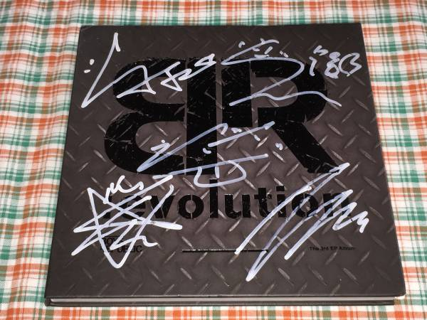Boys Republic@3rdミニアルバム「BR:evolution」非売品CD@直筆