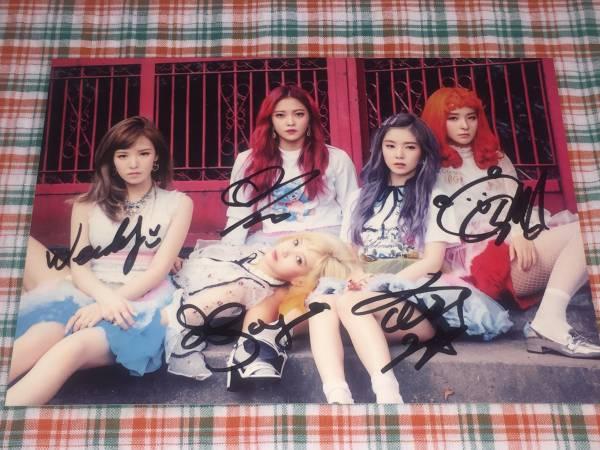 Red Velvet@Russian Roulette(SM公式)ポストカード@直筆サイン