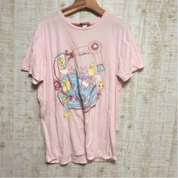 【レアグッズ】クリープハイプ 洗面台Tシャツ ピンク XLサイズ ライブグッズの画像
