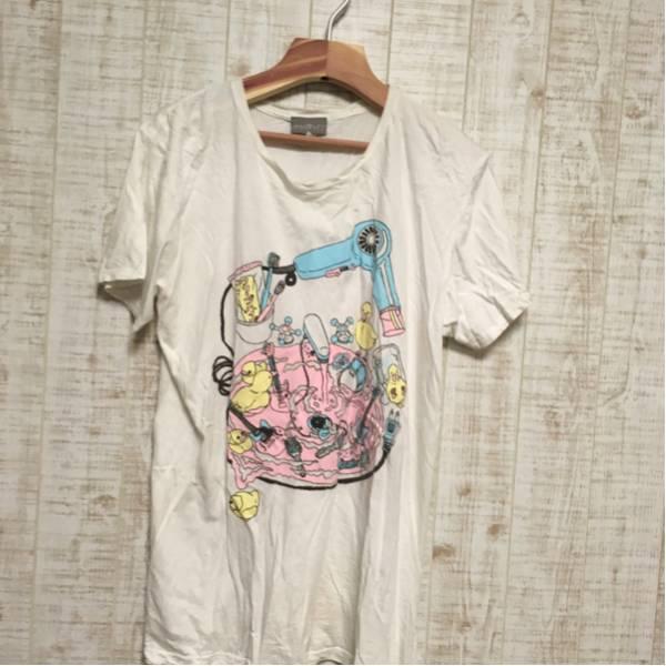 【レアグッズ】クリープハイプ 洗面台Tシャツ 白 XLサイズ ライブグッズの画像