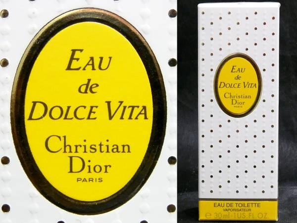 送料300円~税込新品Christian DiorドルチェヴィータEDT30mlスプレー クリスチャン・ディオール香水オー・デ・トワレ フランス製Dolce Vita_画像1