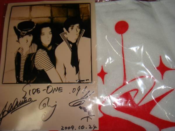 貴重 サイドワン SIDE-ONE ライブ売り タオルと写真/ ロカビリー