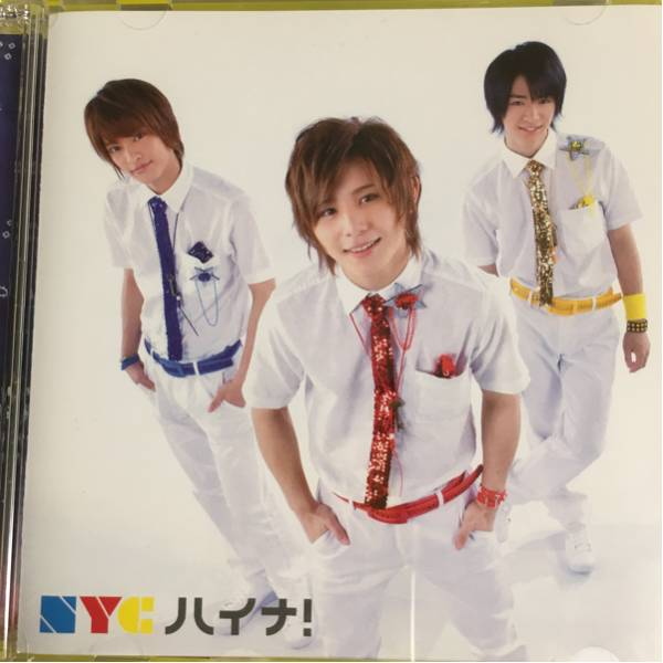 NYC 中山優馬山田涼介知念侑李 ハイナ 初回限定盤 帯なし DVD付