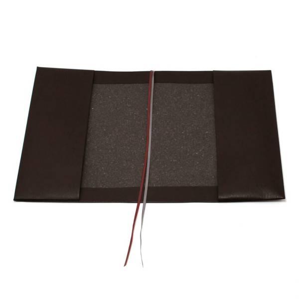5ee63ff88966 お手入れいらずのリサイクルレザーで作ったブックカバー☆ほぼ日カズン手帳