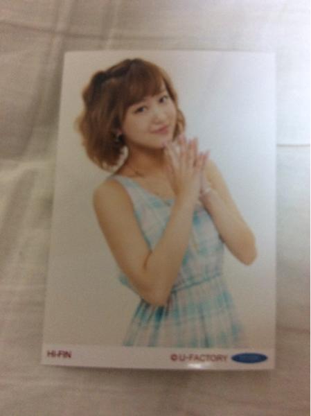 ℃-ute 萩原舞 生写真 ハロプロ2013夏限定 HI-FIN 衣装