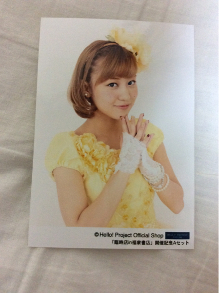 ℃-ute 萩原舞 生写真 2013年8月 福家書店新宿サブナード店限定