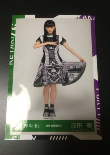 欅坂46 サイレントマジョリティー 歌衣装 生写真 ヒキ 原田葵