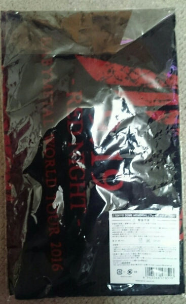 BABYMETAL WORLD TOUR 2016 フェイスタオル RED 送料無料 赤 東京ドーム LIVE AT TOKYO DOME