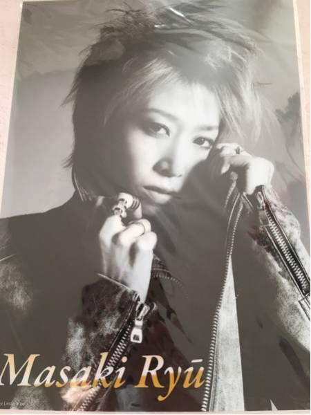 宝塚101周年記念クリアファイルA4 月組龍真咲 レスリー・キー