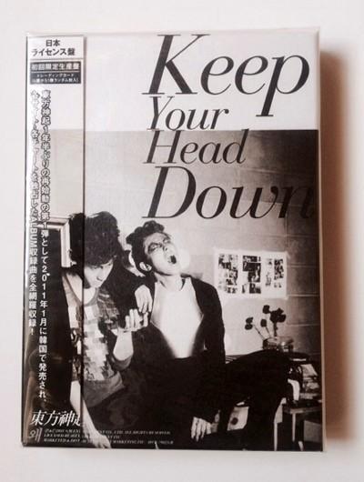 新品 東方神起/Keep Your Head Down日本ライセンス盤初回