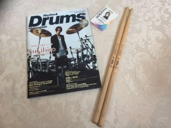 【ラルク/yukihiro】drums☆ドラムスティック