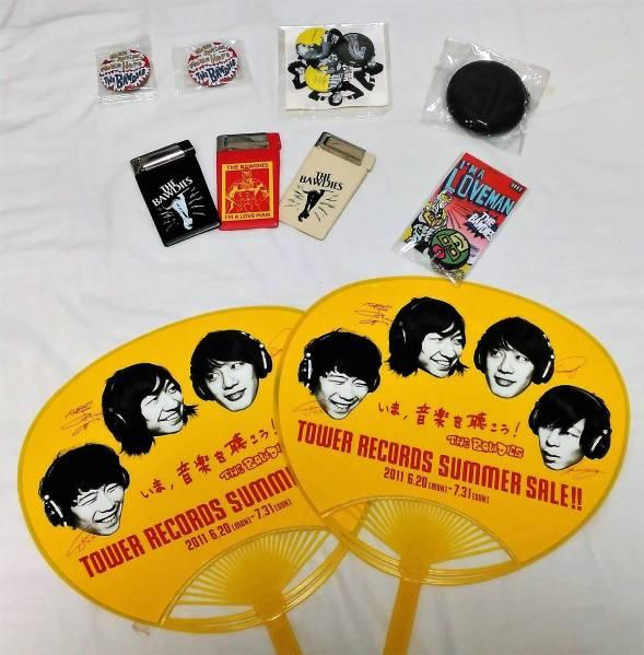 THE BAWDIES グッズセット 缶バッジコインケース等 ボゥディーズ ライブグッズの画像