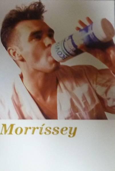 MORRISSEY ライブビデオ発売告知ポストカード