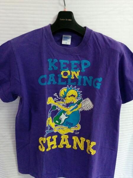 バンドTシャツ SHANK 2012年 紫 Sサイズ 0059