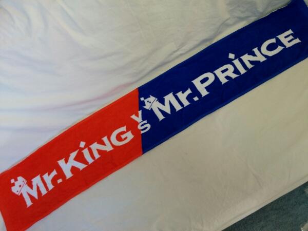 Mr.King VS Mr.Prince マフラータオル キンプリ t550