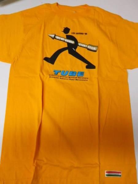 TUBE LIVE AROUND 1998 Tシャツ Mサイズ オレンジ