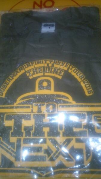 Doberman Infinity THE LINE ツアー Tシャツ グッズ Sサイズ KAZUKI SWAY